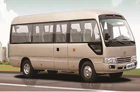广州中巴租赁-仿丰田中巴23座-32座包车
